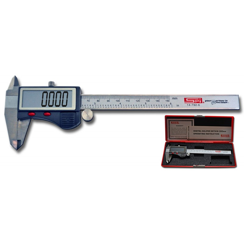 Electronic Federal Gage Products : G a l gage quot digital caliper