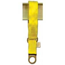 "French Creek 6' Double D-Ring Tie-Off Strap With 3"" Wear Pad, 1372-WP"