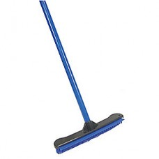 "Tough Guy 12"" Rubber, Straight Squeegee Broom, 1 EA"