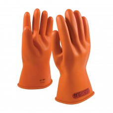 NOVAX Class 0 Rubber Insulating Glove with Straight Cuff - 11""