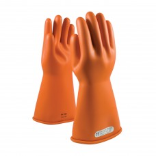 NOVAX Class 1 Rubber Insulating Glove with Straight Cuff - 14""