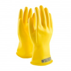 NOVAX Class 00 Rubber Insulating Glove with Straight Cuff - 11""