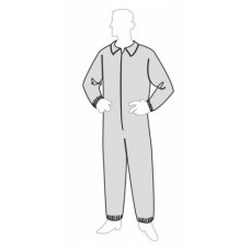 Liberty 19125 ProGard Disposable Coverall, Elastic Wrists & Ankles, 25/Case
