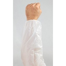 "WHITE SLEEVE - POLYPROPYLENE, XL 22"", 100 PR / CASE"