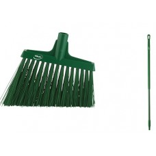 "Angle Cut Broom/Handle, 51"",Green"