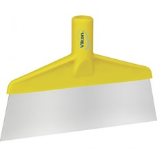 "Scraper,Floor & Table,10.25"",PP/SS,Yellow"