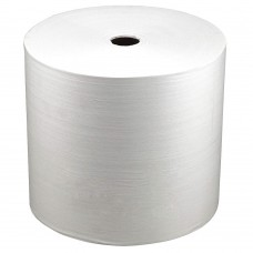 Tough Guy 32KL17, White Hydroentangled Wiper Rolls, Number of Sheets 800