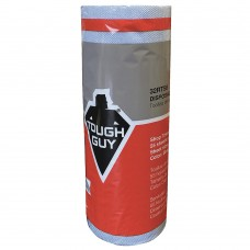 Tough Guy 32RT58, Blue DRC (Double Re-Creped) Disposable Towels, Number of Sheets 55