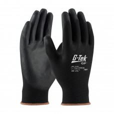PIP 33-B125 G-Tek GP Seamless Knit Nylon Glove with Polyurethane Coated Smooth Grip on Palm & Fingers, Dozen