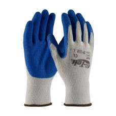 PIP 39-1310 G-Tek® GP Seamless Knit Cotton / Polyester Glove with Latex Coated Crinkle Grip on Palm & Fingers - Economy Grade, Dozen