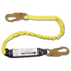 French Creek 450AS Elastic Shock Absorbing 6' Web Lanyard w/ Pack