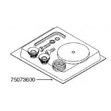 Hardi 1303 Series Diaphragm Pump Rebuild Kit, 75073600