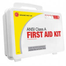 Genuine First Aid Class A 25 Person 2015 ANSI / OSHA Easy Care First Aid Kit