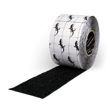 "Gator Grip Non-Skid Tape, 6"" x 60' Roll, Black 2/Case"