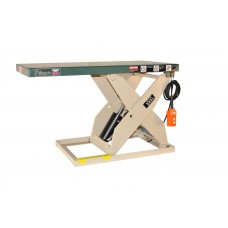 "BEECH LOADREDI LIGHT DUTY SCISSOR LIFT TABLE 48"" W X 48-5/8""L PLATFORM, 750 LB CAPACITY, RL24-7.5-4W"