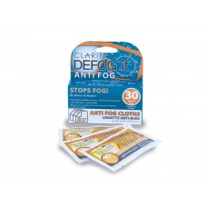 CLARITY DEFOG IT™ Tear-And-Go Packaging Anti Fog Cloths 3-pack (10 Uses / Cloth)