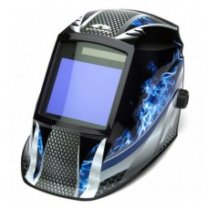 Pyramex WHAM3030FM Fire Metal Decorated Auto Darkening Welding Hood