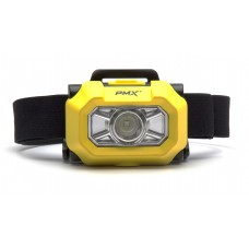 Pyramex HL100 Intrinsically safe high power (200/100 Lumens) LED headlamp (Class I Div 1)
