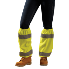 OccuNomix LUX-SG Hi Vis Lime / Yellow Leg Gaiter, 1 Pair