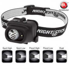 Nightstick NSP-4608B Dual-Light™ Multi-Function Headlamp