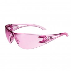 Radians Optima OP6767ID Safety Glasses Pink Lens Pink Temples