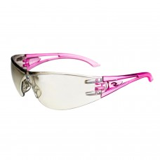 Radians Optima OP6790ID Safety Glasses Indoor / Outdoor Lens Pink Temples
