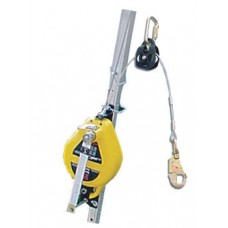 French Creek R50G Retractable Lift Line System w/ 50' Galv. Wire Rope