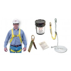 French Creek RKB1715-50 Roofers Fall Protection Kit 50' RKB with 1715 Anchor