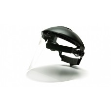 """Pyramex PC Face Shield Only, 8"""" X 15""""  /.040 thick, Clear"""
