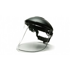 Pyramex Aluminum Bound PC Face Shield Only, Clear