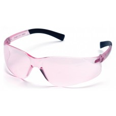 Pyramex S2517SN Mini Ztek Safety Glasses Pink Frame Pink Lens