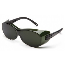 Pyramex S3550SFJ OTS Safety Glasses Black Temples 5.0 IR Filter Lens
