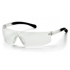 Pyramex S7210ST Provoq Safety Glasses Clear Frame Clear Lens, Anti-Fog