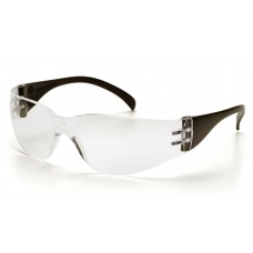 Pyramex Intruder SB4110S Safety Glasses, Black Temples, Clear-Hardcoated Lens
