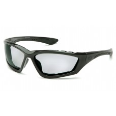 Pyramex Accurist Safety Glasses, Black Frame, Light Gray Lens, Anti-Fog