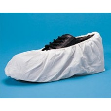 LARGE - WHITE - SHOE COVER - CROSS LINKED POLYETHYLENE  - WATER RESISTANT, 150 PR / CASE