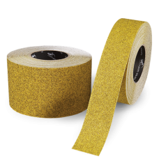 "Yellow Gator Grip® Stadium Track Tape, Anti-Slip, 4"" x 60'"