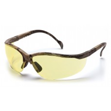 Pyramex Venture II Safety Glasses, Real Tree HW Frame, Amber Lens