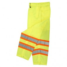 Radians SP61 Class E Surveyor Safety Pants, Hi Vis Lime/Yellow