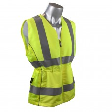 Radians SVL1 Type R Class 2 Contoured Ladies Hi-Vis Yellow / Lime Safety Vest