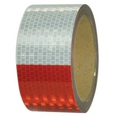 "Conspicuity DOT-C2 Reflective Tape, 2"" x 30', 7"" / 11"" Pattern"