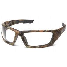 Venture Gear VGSCM1010DTB Brevard Safety Glasses Camo Frame Clear Anti-Fog Lens