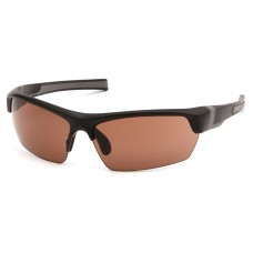 Venture Gear Tensaw VGSB318T Safety Glasses Black / Gray Frame Bronze Anti Fog Lens