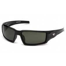 Venture Gear Pagosa VGSB522T Safety Glasses Black Frame Forrest Gray Anti Fog Lens