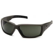 Venture Gear Overwatch VGSG722T Safety Glasses OD Green Frame Forrest Gray Anti Fog Lens