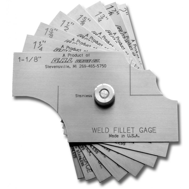 8-Piece Fillet Weld Set