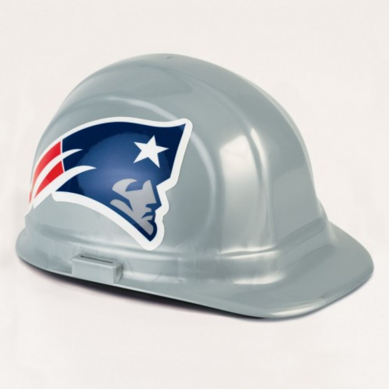 check out 2843c 252f1 New England Patriots Hard Hat - (CLEARANCE - LIMITED STOCK AVAILABLE)