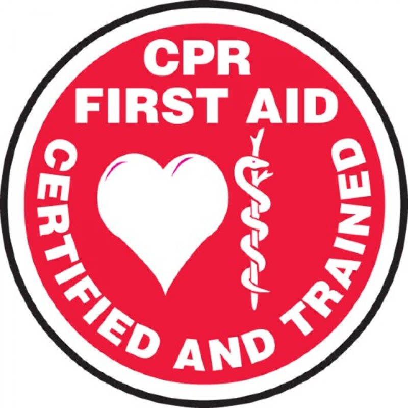 Cprfirst Aid Certified And Trained Hard Hat Sticker 2 14