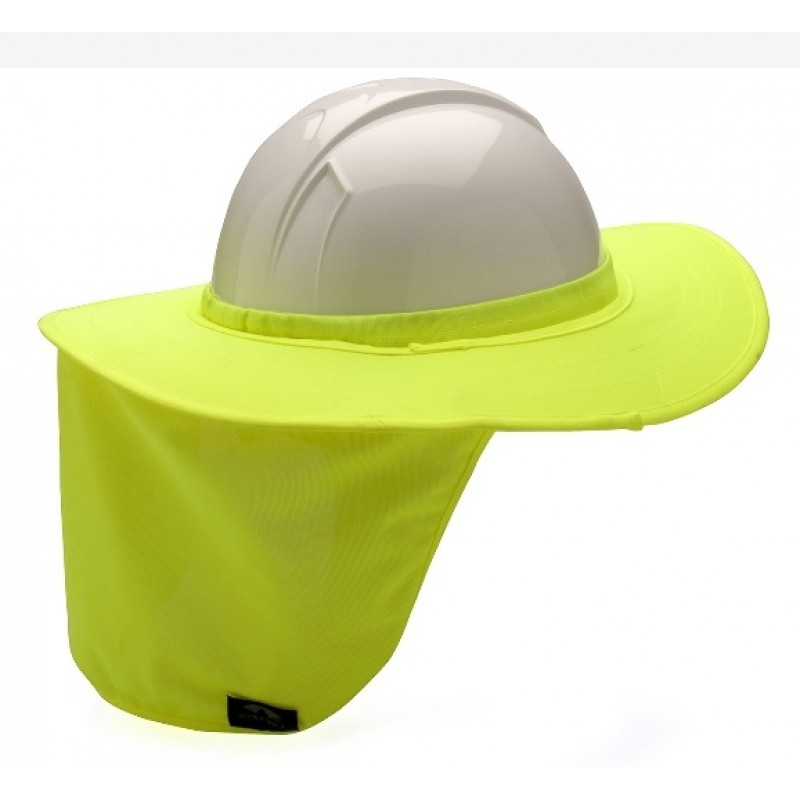 Pyramex HPSHADE30 Hard Hat Brim with Neck Shade f4e9310a9e2