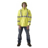NASCO Envisage 103JFY Breathable Rainwear - Rain Jacket Only - Hi Vis Yellow